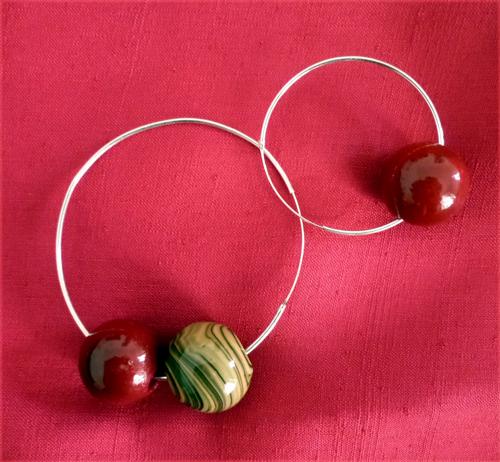 cercols-plata-esferes-vidre-i-agata-combinables